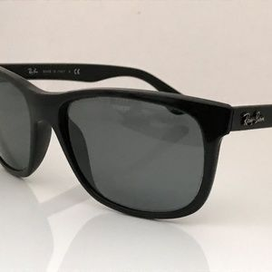 Ray-Ban Sunglasses Frame Black Made in Italy RX Le